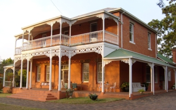 Aberfeldy B&B in Scottsville, Pietermaritzburg, where we have been staying the last few days