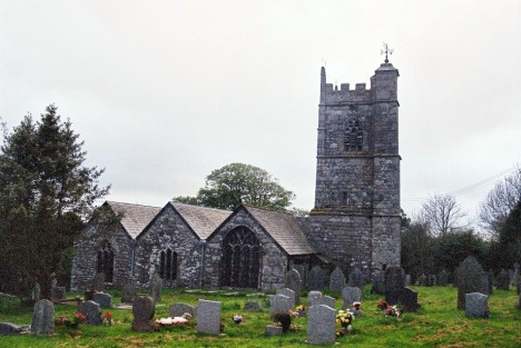 Blisland Church, 5 May 2005