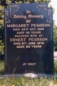 M Ellwood grave