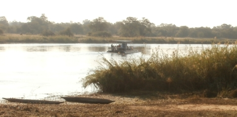 Breakfast on the Okavango River