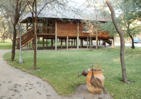 Drotsky's Cabins, near Shakawe in Botswana