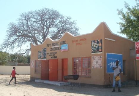 Shebeen in Rundu