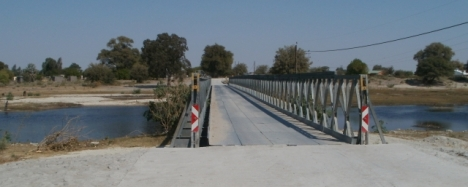 Bridge over the Boteti River at Rakops