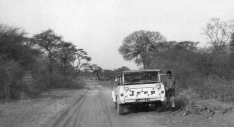 The road from Rundu to Mukwe in 1969, the previous time I travelled along it