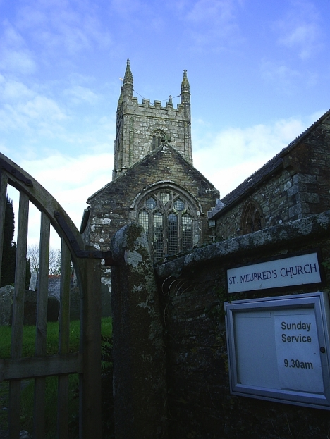St Meubred's Church, Cardinham, Cornwall