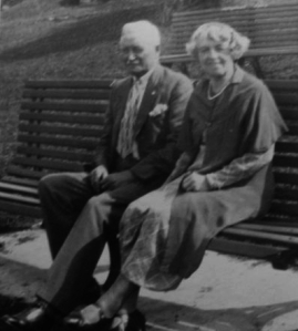 Frederick Vincent Greene (1868-1949) and his wife Mary Frances  Crighton (1868-1957)