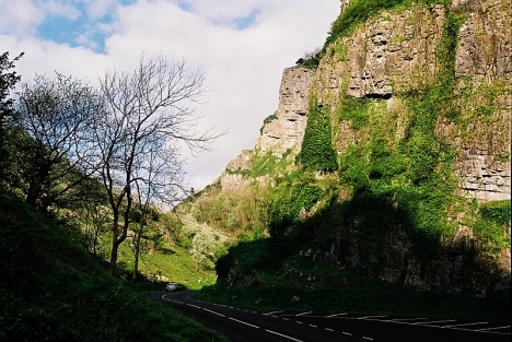 Cheddar Gorge, Somerset 3 May 2005