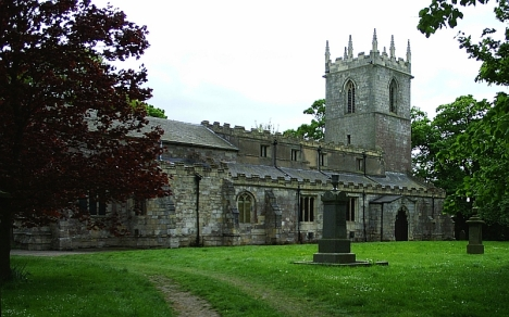 St Andrew's Church, Epworth, Lincolnshire. 13 May 2005.