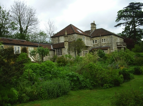 Upper Lodge, Cleeve Hill, Kelston, Bath, home of Josephine and Ezra Tsegaye. 3 May 2005