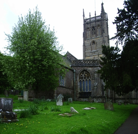 St James's Church, Winscombe, Somerset. 5 May 2005
