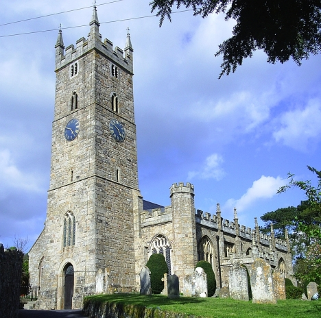 Chudleigh parish churc. My great great grandfather Thomas Stooke was baptised here in 1815.