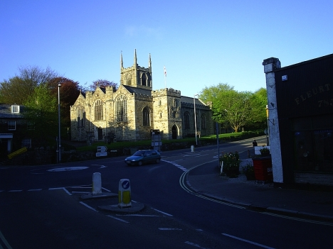 St Petroc's Church, Bodmin, Cornwall