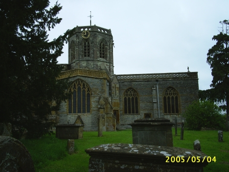 St Peter & St Paul Church, North Curry, Somerset, 4 May 2005.