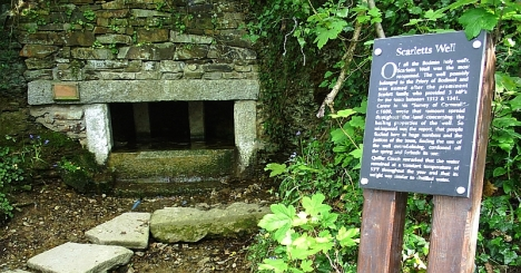 Scarlett's Well, Bodmin, Cornwall. 5 May 2005