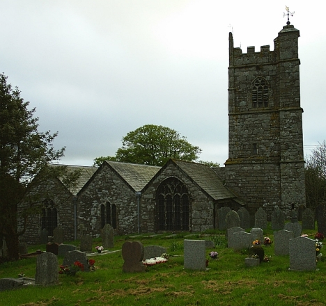 Blisland Parish Church, 5 May 2005