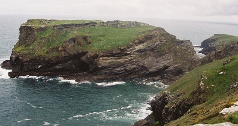 North Cornwall coast at Tintagel, 6 May 2005