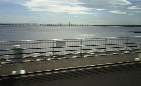 Crossing the Severn into South Wales 6 May 2005