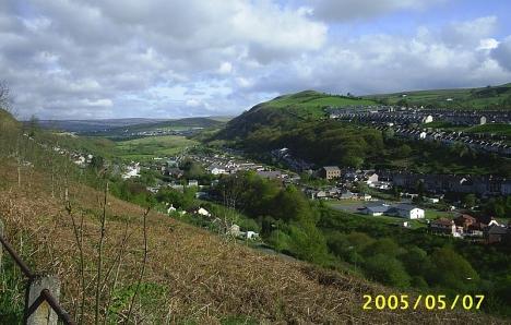 Cwm Rhondda, 7 May 2005