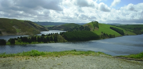 Vlywedog Reservoir, 7 May 2005