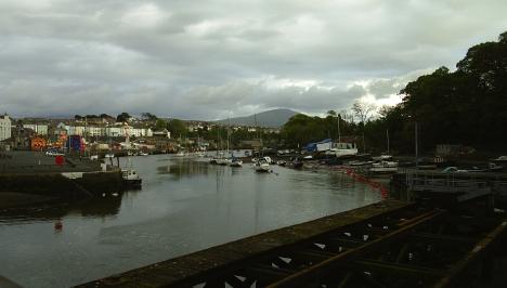 River Seiont at Caernarfon.