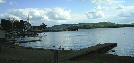 Lake Windermere, Cumbria, 9 May 2005
