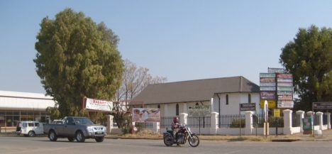 Christiana -- one of a string of diamond-digging towns along the Vaal River