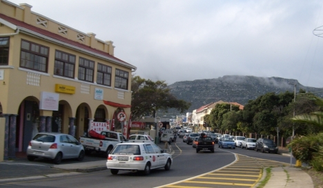Fish Hoek main street