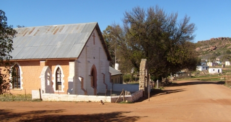 Leliefontein church and village