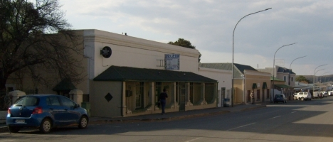 The old Drosdy in Colesberg, now a restaurant