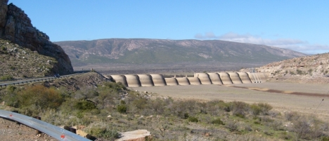 Grootrivier Dam -- as empty as it was four years ago