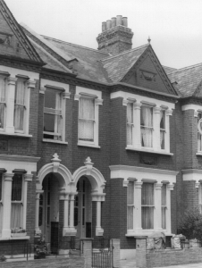12 Brancaster Road, Streatham, where I lived while I was working for London Transport.