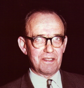 Willie Hannan, MP; my mother's cousin.