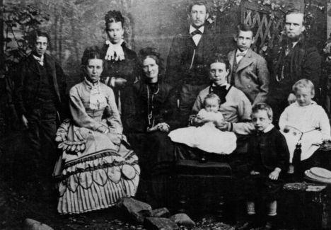 isabella little carr and family